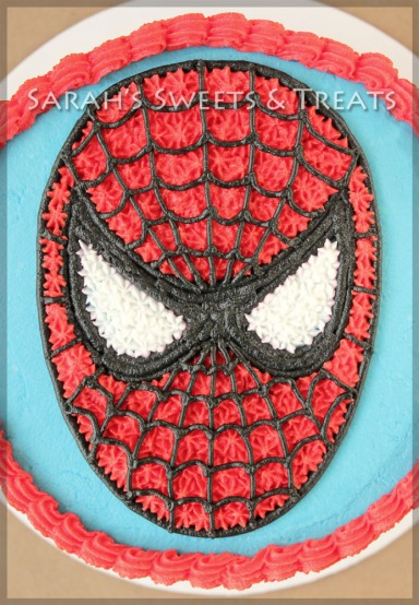 BRSpiderManCake1