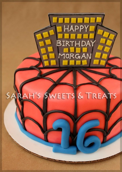 SpiderMan16Cake1